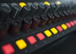 NEVE analog mixer produzione audio